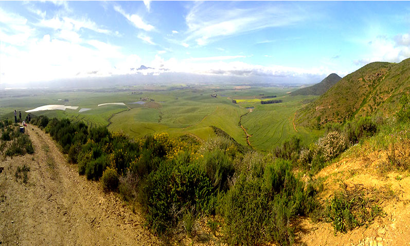 Amazing sites of Riebeek Valley durning your hot air ballooning experience.
